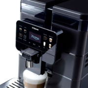 The Royal tabletop coffee machine is equally at home in the home.