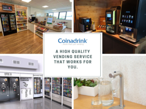 Coinadrink deliver a wide range of vending machine services to the automotive industry.