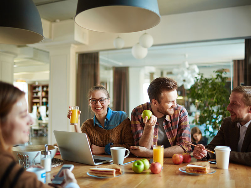 The Micro Market can improve workplace wellbeing and relationships.