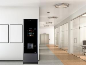 Florstanding hot drink vending machines from Coinadrink.