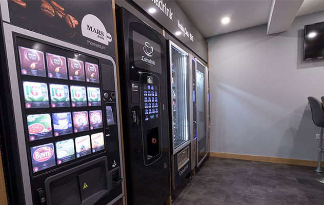Buy vending machines with excellent support.