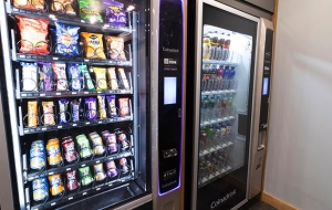A cold drink vending machine can work almost anywhere and is hugely convenient.
