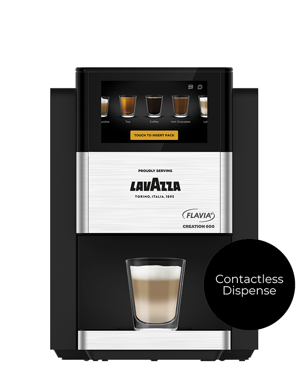 The Flavia Creation 600 office coffee machine from Coinadrink Limited.