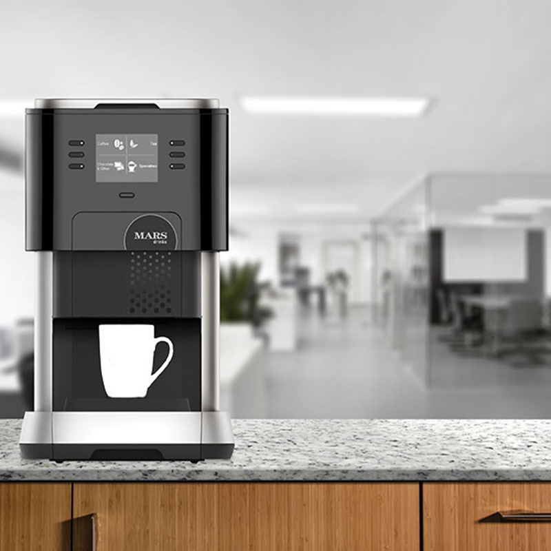 Our in-cup vending machines maximise convenience.