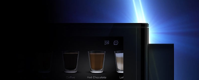 The contactless Flavia Creation 600 office coffee machine is well sited to boardrooms, showrooms and reception areas.
