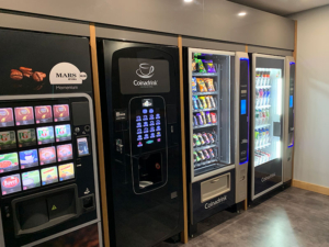 We guarantee a fully stocked vending machine, just one of the benefits of us financing our own equipment.
