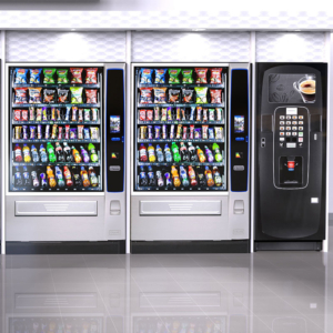 Vending furniture from Coinadrink Limited the vending machine company.