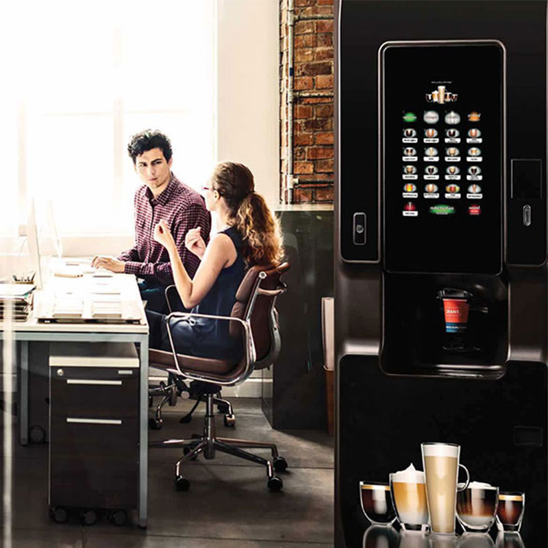 A hot drinks vending machine from Coinadrink would provide an excellent employee benefit.