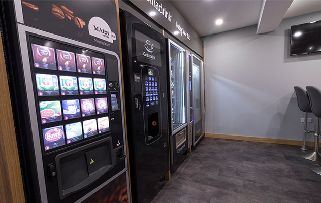 Enjoy our prestigious operated service plan with your hot drinks vending machine.