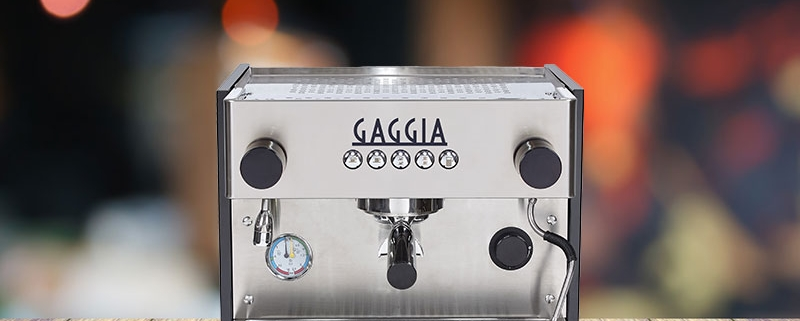 The La Nera commercial coffee machine is well suited to a modern world, and can be controlled remotely.