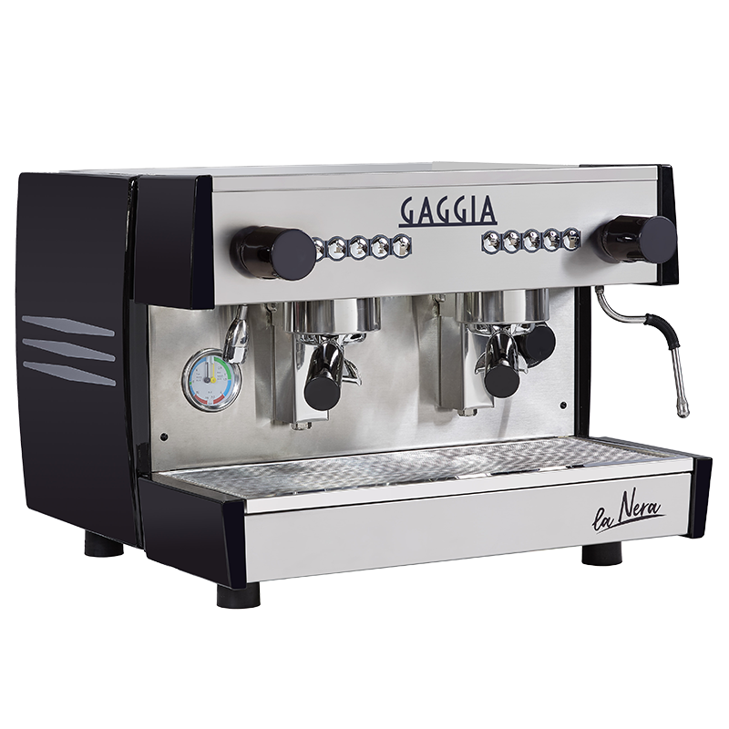 The Gaggia La Nera commercial coffee machine is well suited to the modern world.