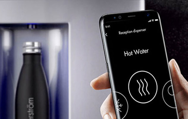 You can now experience added peace of mind with a contactless mains-fed water cooler.