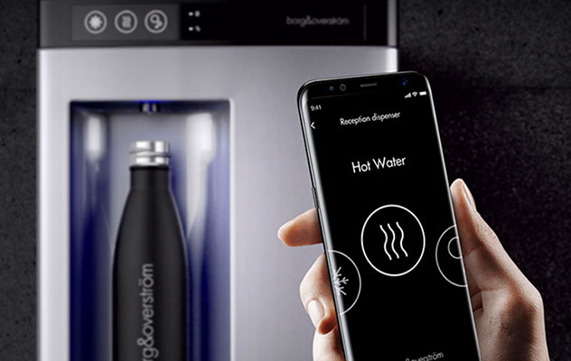 contactless water coolers.