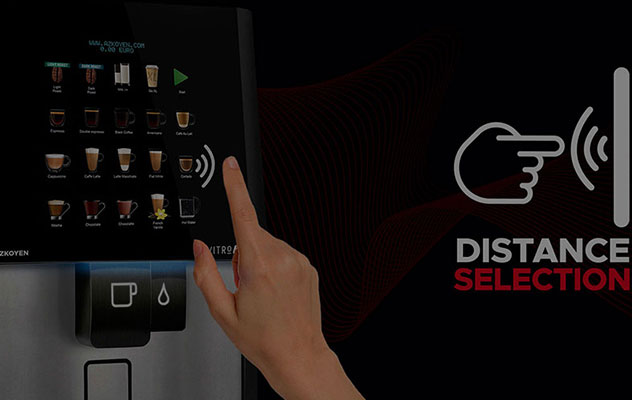 You can now enjoy a contactless tabletop coffee machine for greater peace of mind.