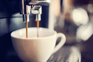Home coffee machines can help fill the gap left by the closure of the hospitality industry.