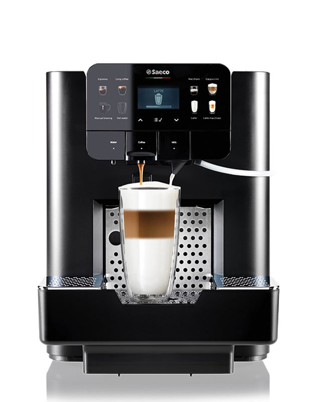 The AREA capsule coffee machine available from Coinadrink Limited.