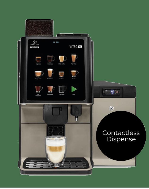 Vitro X1 fresh milk coffee machine UK
