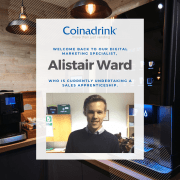 Our sales apprentice Alistair Ward shares an update on his course.