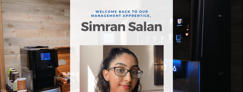 Our Management Apprentice Simran Salan shares an update on her course.