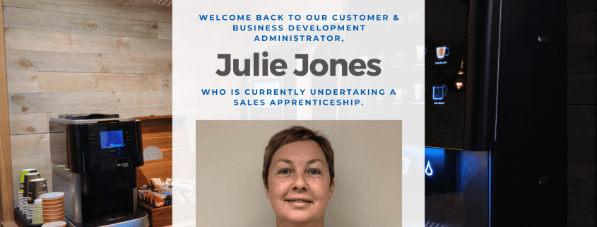 Our sales apprentice Julie Jones shares an update on how the course is going so far.