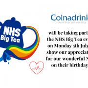 Coinadrink Limited NHS Big Tea Machine [county] UK
