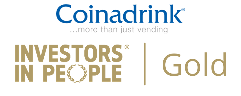Coinadrink Investors in People Gold accreditation [county] UK