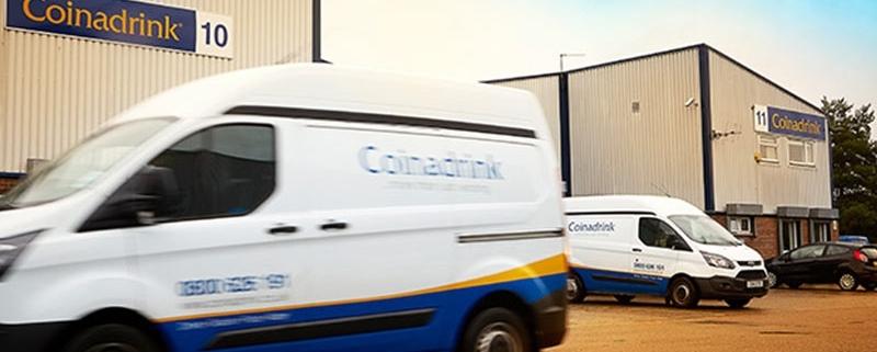 Coinadrink's vending machine operators and engineers UK
