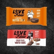 Love Raw vegan products snack vending machines and Micro Markets UK