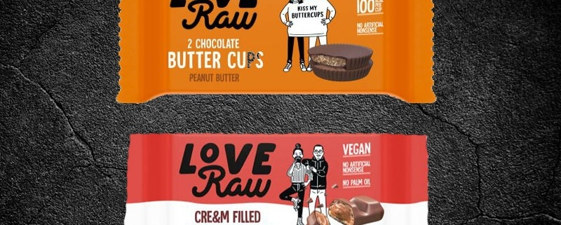 Love Raw vegan products now available in our snack vending machines and Micro Markets.