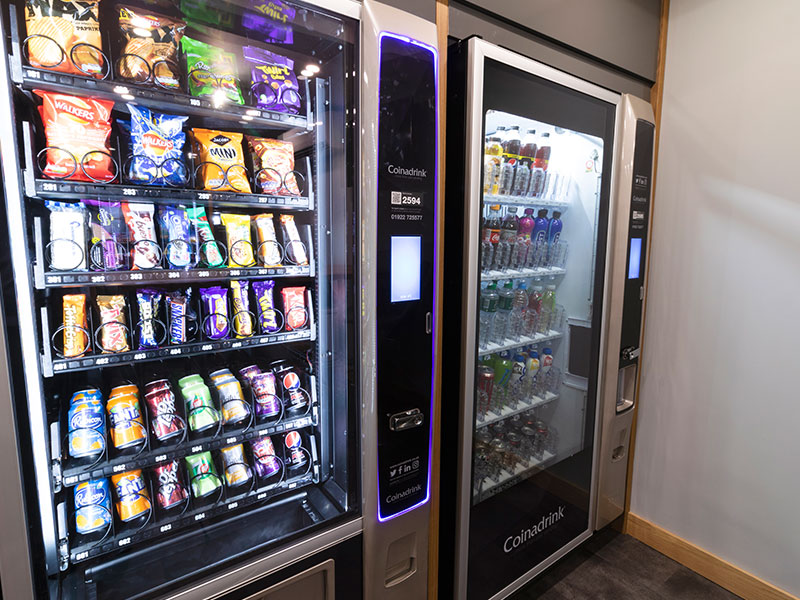 We provide a quality vending machine service through a tailored replenishment and maintenance programme