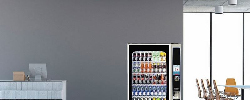 How does Coinadrink guarantee a fully stocked vending machine?