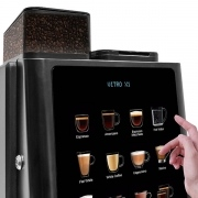 The Vitro bean to cup coffee machine range delivers coffee shop quality to your workplace.