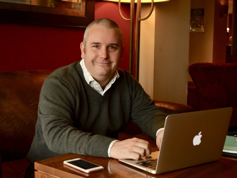 Mr Brett Sheldon of the Business Support Organisation.