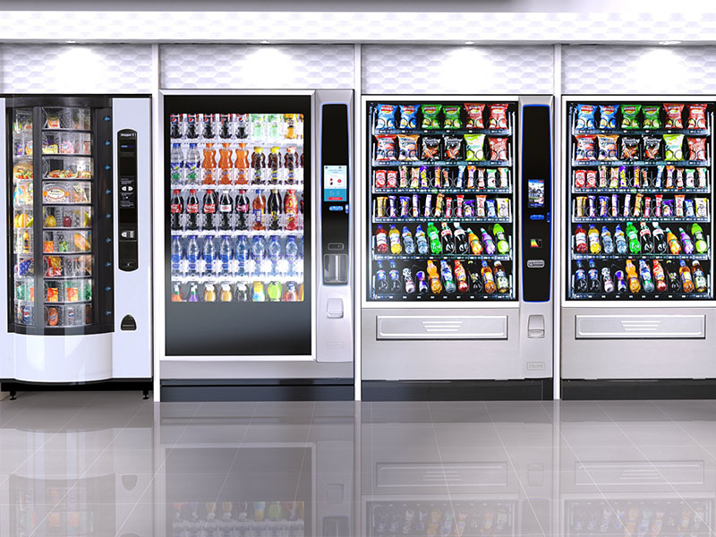 A huge variety of vending services.