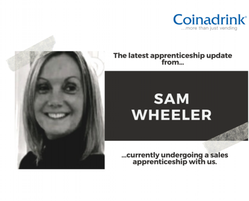 The latest update from Sam Wheeler, who is undergoing a sales apprenticeship course with us.