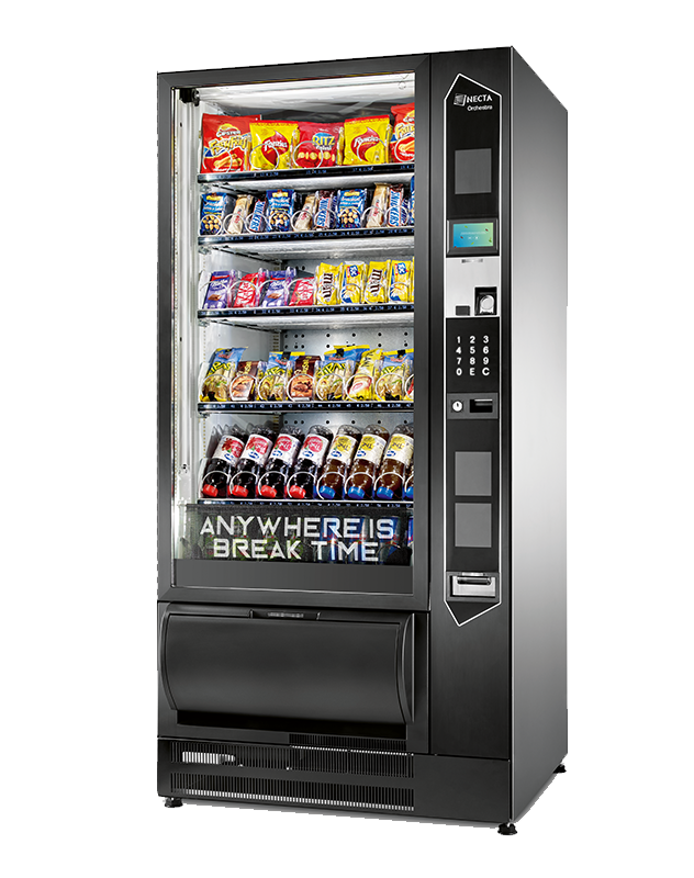 The Orchestra snack and cold drinks vending machine UK