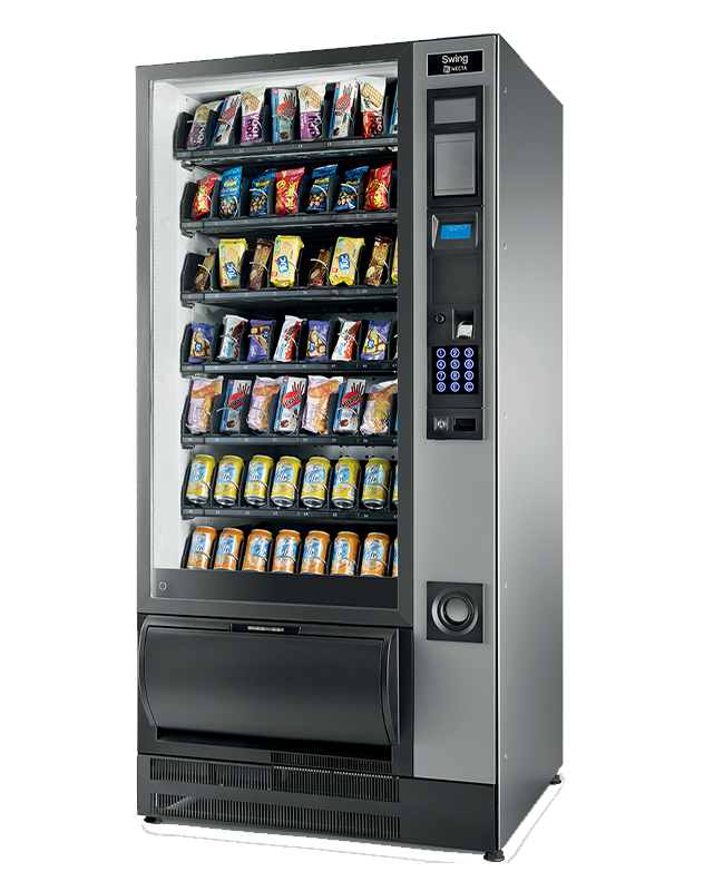 The Swing snack and can vending machine UK