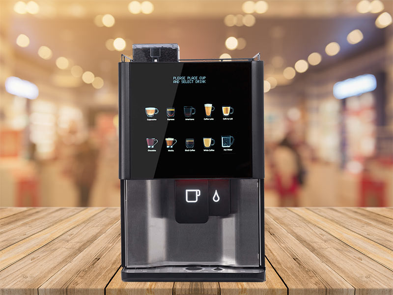 Tabletop tea vending machines from Coinadrink Limited.