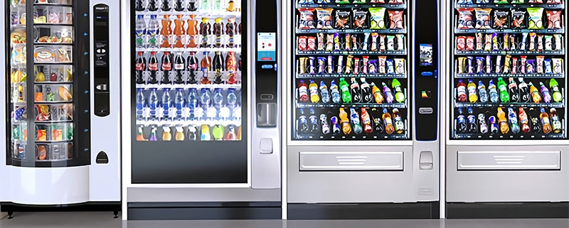 A vending machine supplier that delivers by listening to what our customers want.