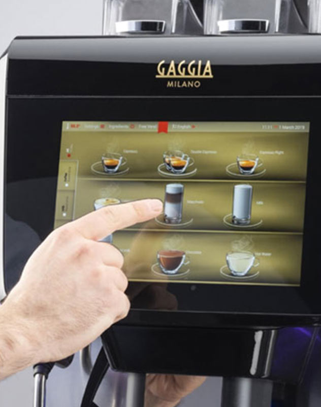 barista coffee machines for the workplace
