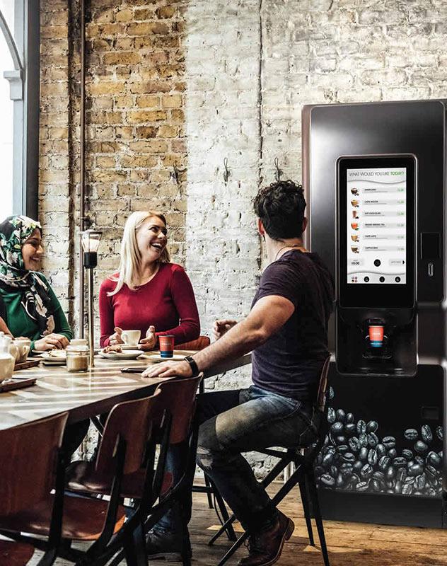 Coti coffee vending machine.