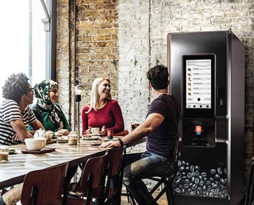 coti floorstanding coffee vending machine