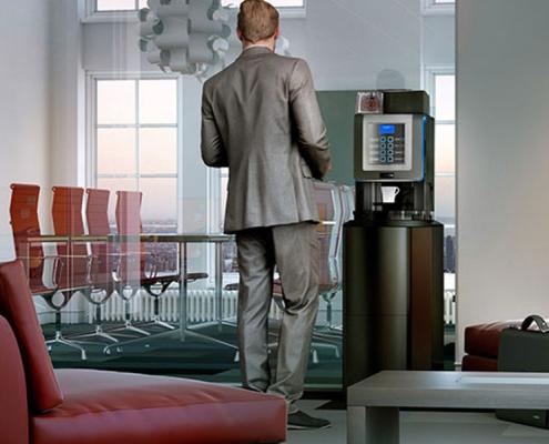 Koro tabletop coffee vending machine West Midlands.
