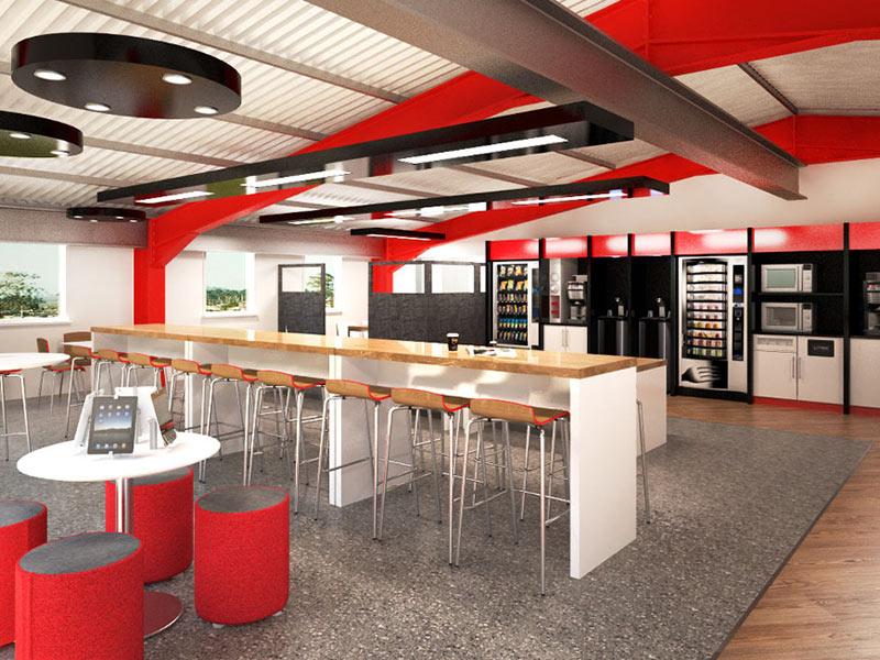 staff canteen west midlands