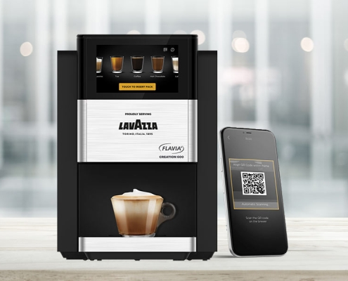 tea machine Flavia 600