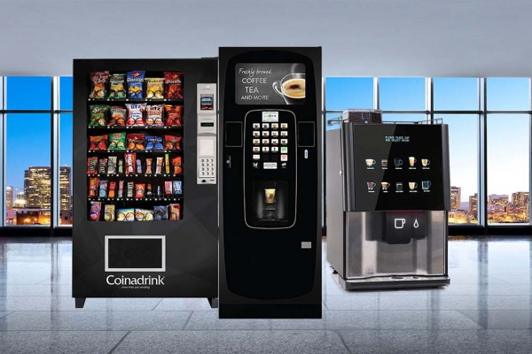 Vending machines for hire for offices Dudley and West Midlands UK